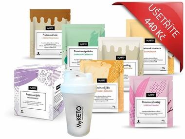 MyKETO proteinová keto dieta MEDIUM 1, 70 jídel (dieta na 14 dní)