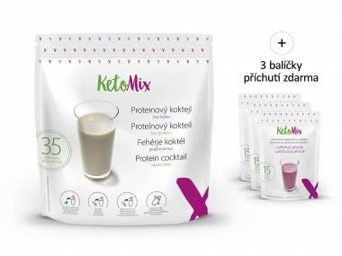 Proteinový koktejl KetoMix 1050 g (35 porcí)