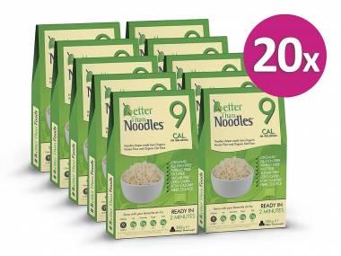 Better than Noodles Konjakové bezsacharidové nudle (15+5 zdarma)