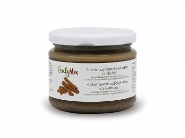 DailyMix Proteinový mandlový krém se skořicí (10 porcí)
