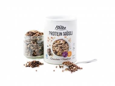 Chia Shake Proteinové müsli čokoláda + lískový oříšek 300g