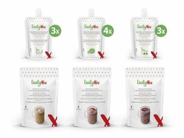 DailyMix Balíček smoothie a proteinových pyré –  31 porcí