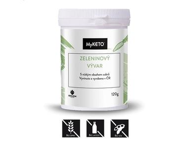 MyKETO Zeleninový vývar, 24 porcí, 120 g