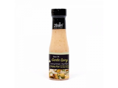 2BSlim Pikantní česnek dresink bez kalorií 250 ml