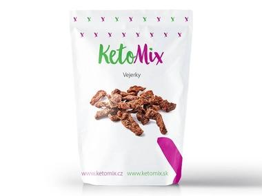 KetoMix Vejerky - vegetariánské sušené maso (1 porce) 30 g