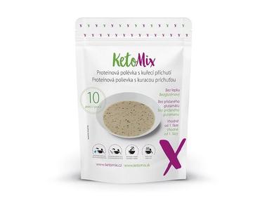 KetoMix Proteinová polévka s kuřecí příchutí (10 porcí) 250 g