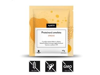 MyKETO Proteinová omeleta sýrová, 1x40 g