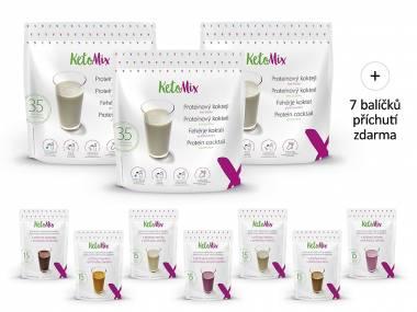 KetoMix Proteinový koktejl na 3 týdny