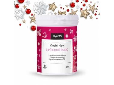MyKETO Vánoční nápoj s příchutí punč 120 g, 40 porcí
