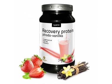 MyKETO MAXI Recovery Protein Gym Body jahoda-vanilka 600g
