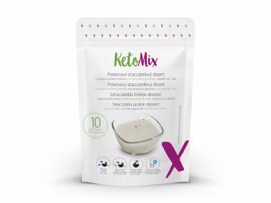 KetoMix Proteinový stracciatelový dezert