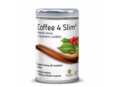 GOLDIM MyKETO Coffee4Slim, keto káva, 120 g, 60 porcí