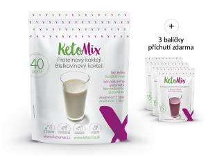 Proteinový koktejl KetoMix 1200 g (40 porcí)