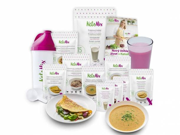 Ketonová dieta na 3 týdny (110 porcí)