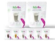 Proteinový koktejl KetoMix – 70 porcí + 10 porcí ZDARMA 2 400g