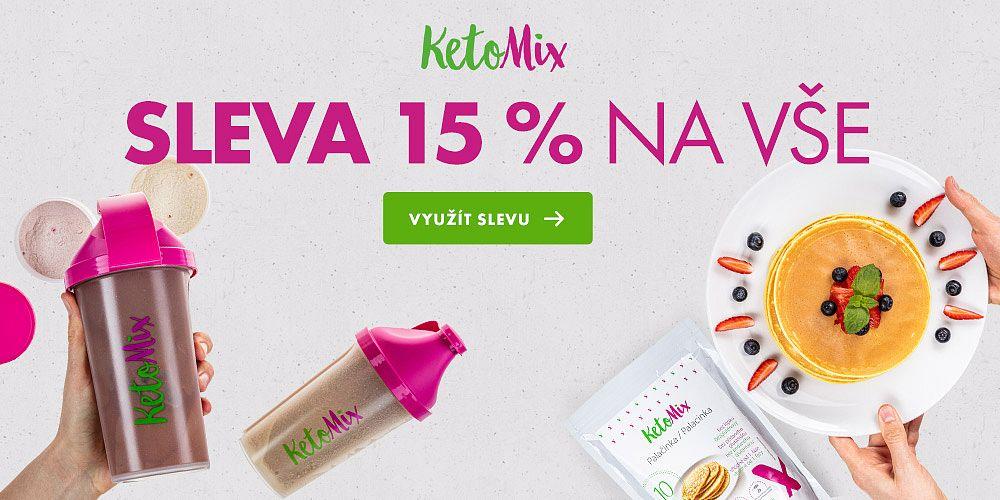 Ketonovou dietu KetoMix nyní pořídíte se slevou 15 %