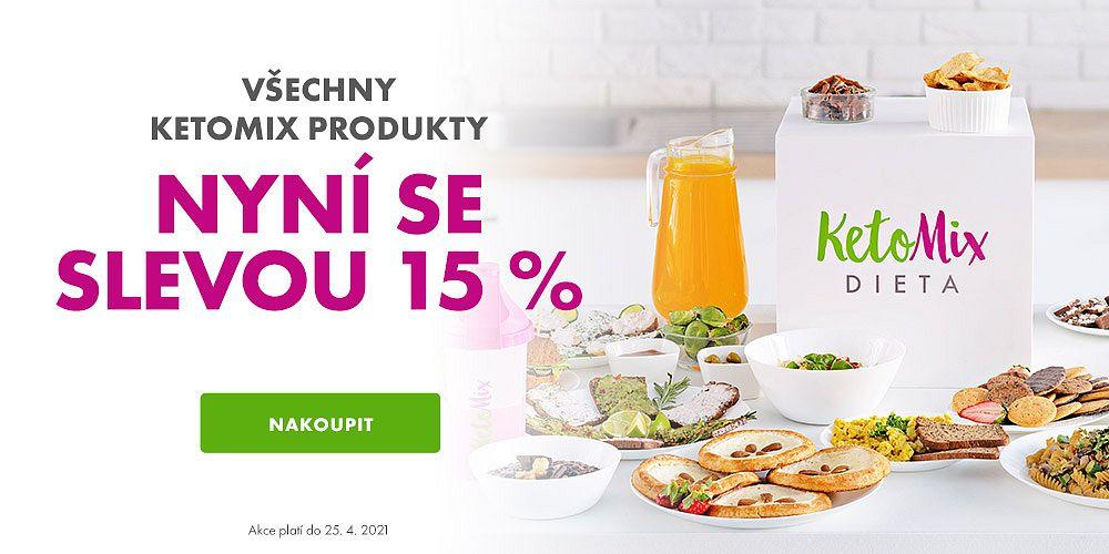 KetoMix.cz - Chutné a kvalitní jídlo, se kterým zhubnete! Nyní se slevou 15 %