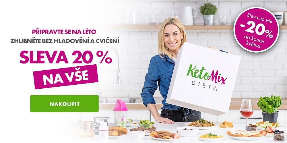 KetoMix.cz - Nyní se slevou 20 %