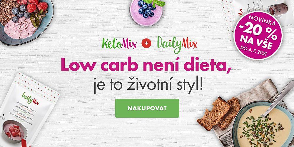 KetoMix.cz - Chutné a kvalitní jídlo, se kterým zhubnete! Nyní se slevou 20 %