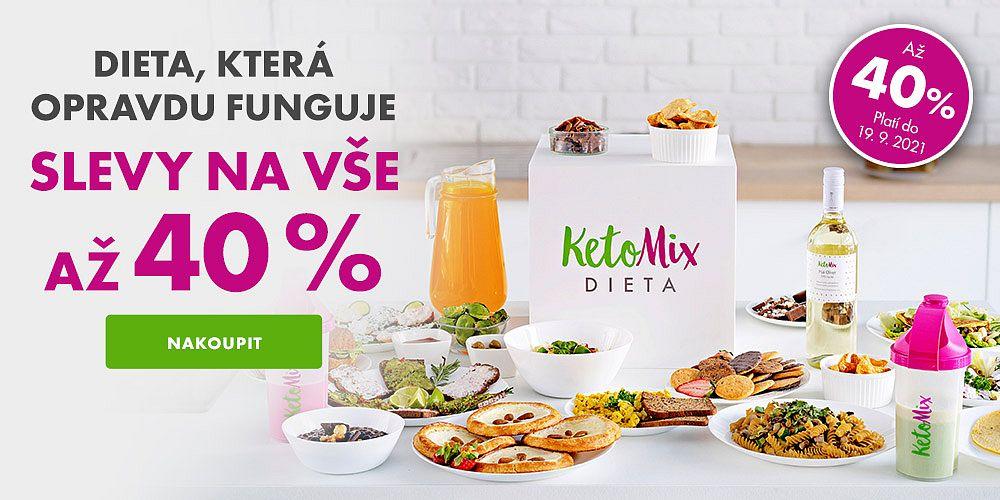 KetoMix.cz - KetoMix startuje týden velkých slev! Ode dneška má slevy až 40 %!