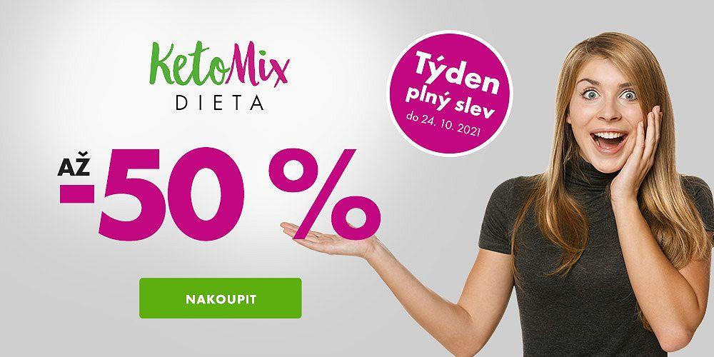 KetoMix.cz - Chutné a kvalitní jídlo, se kterým zhubnete! Nyní se slevou až 50 %