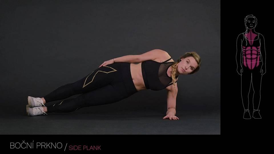 Boční prkno / side plank