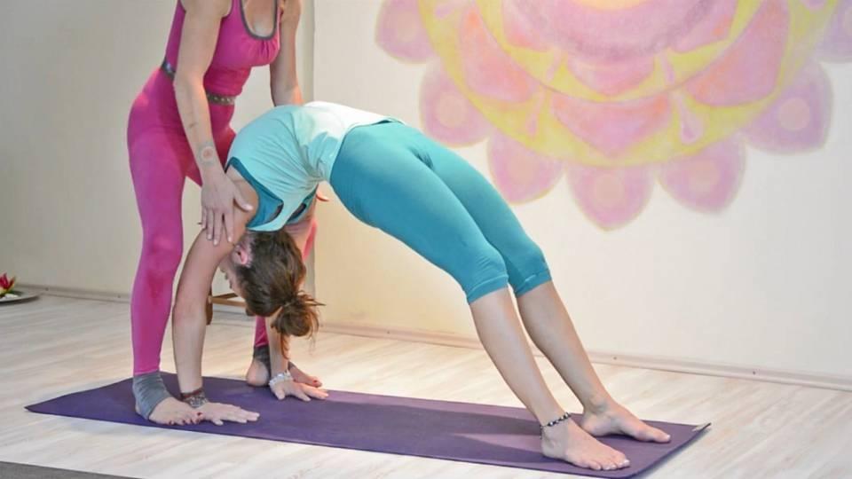 Vinyasa jóga pro pokročilé