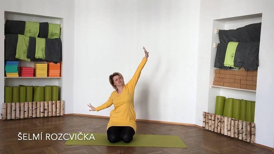 Dětská jóga - rozcvička v ZOO