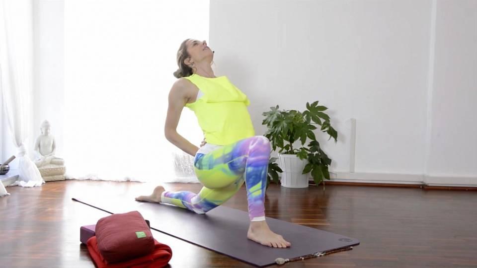 Detoxikační jóga a stimulace lymfatického systému