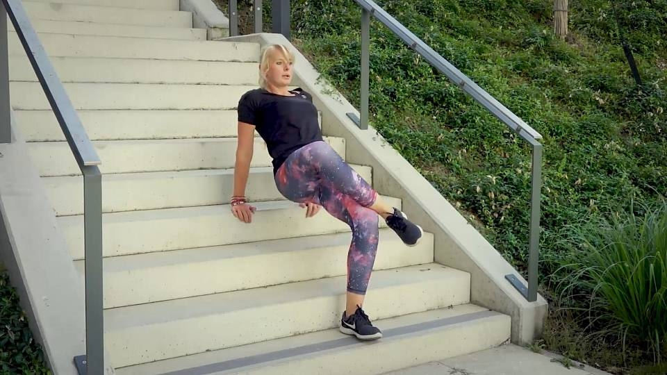 Cvičení na schodech
