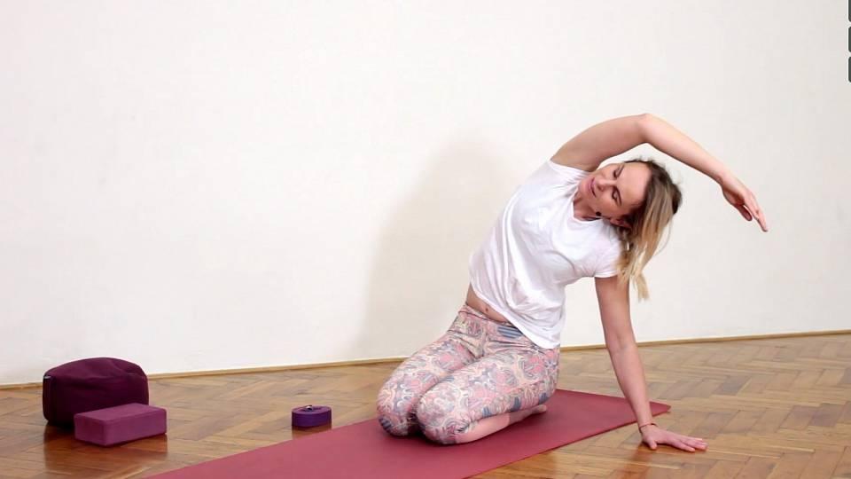 Otevřete své srdce, jóga na podporu čtvrté čakry