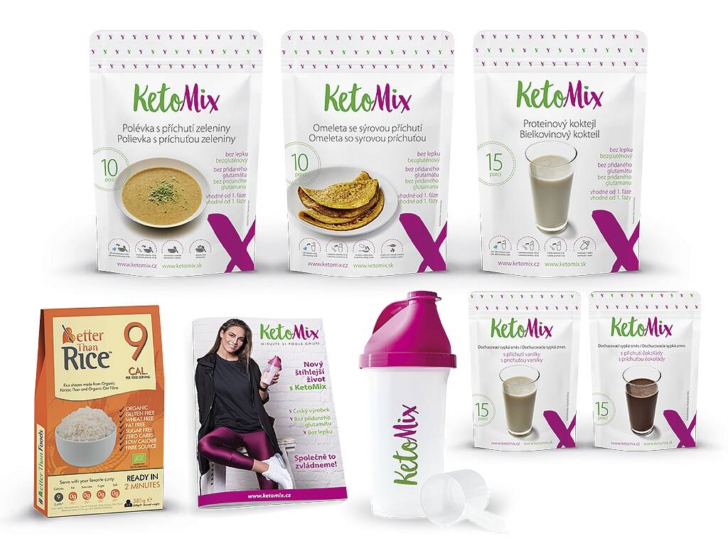 KetoMix Ketónová diéta na 7 dní (35 porcií) 1 545 g