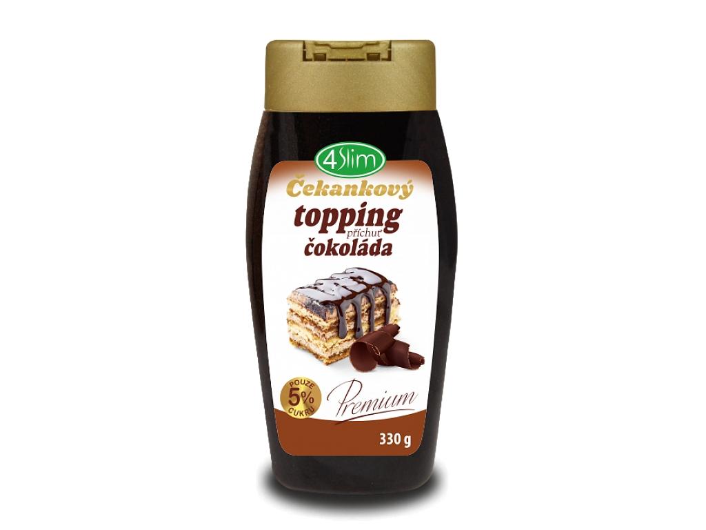 4Slim Čakankový topping - príchuť čokoláda