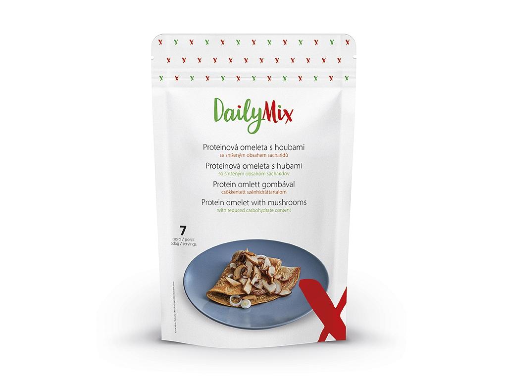 DailyMix Proteinová omeleta s houbovou příchutí (7 porcí)