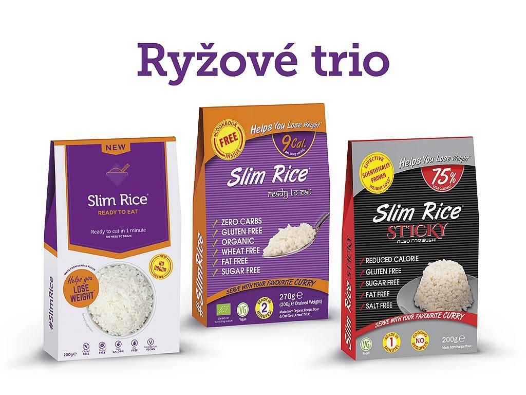 Ryžové trio Slim Pasta