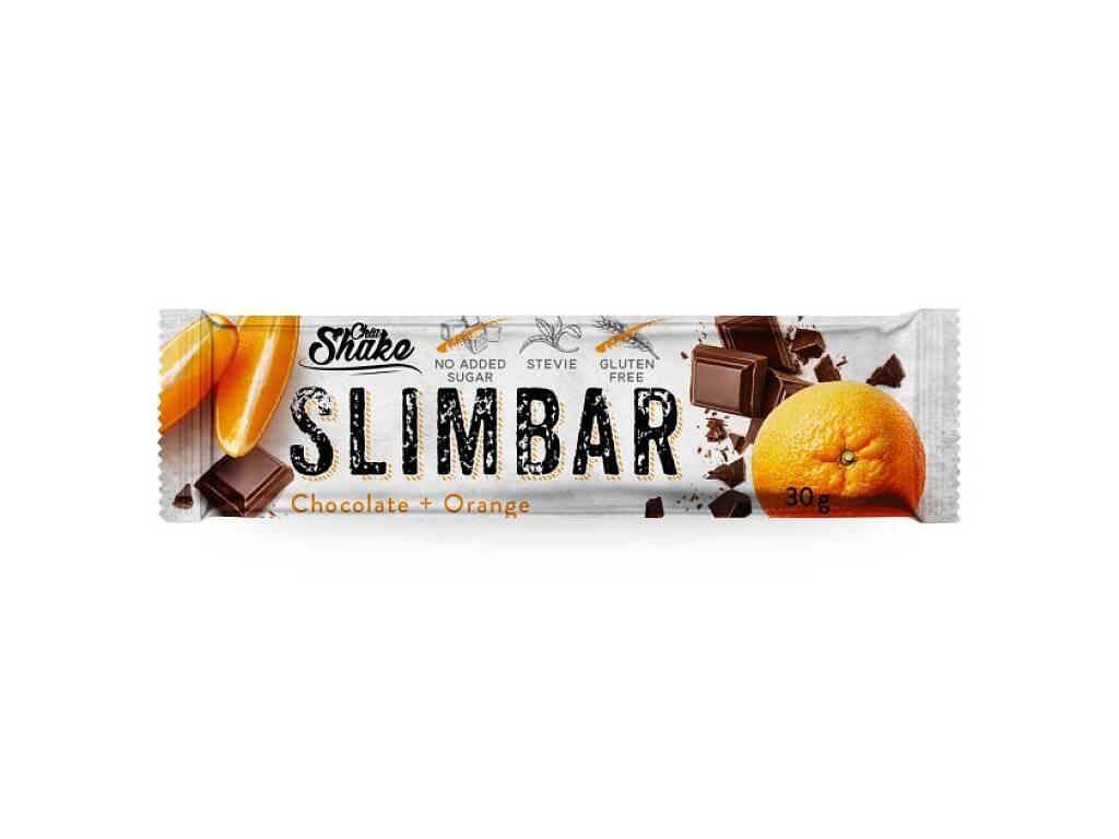 Chia Shake Diétna tyčinka Čokoláda+Pomaranč 30g