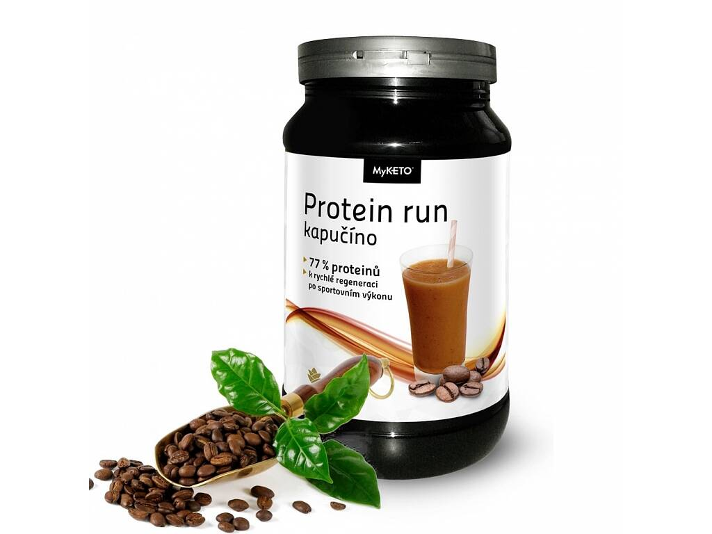 MyKETO MAXI Run Protein Gym Body kapučíno 600g