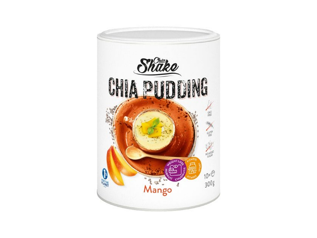 Chia Shake Chia puding mango 300g