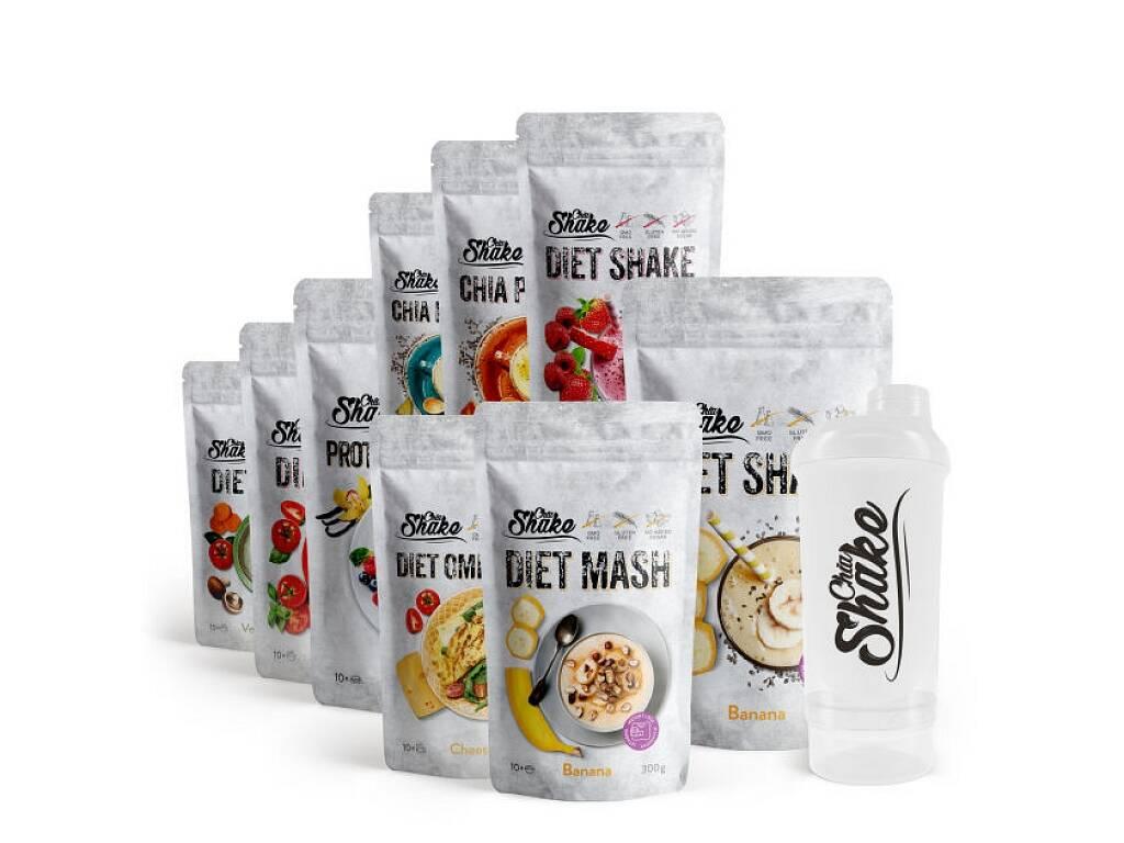 Chia Shake Diétny balíček na 4 týždne 5000g