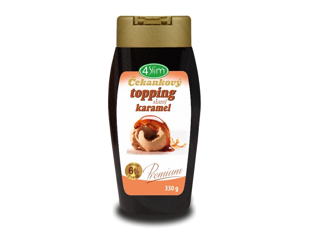 4Slim Čakankový topping - príchuť slaný karamel