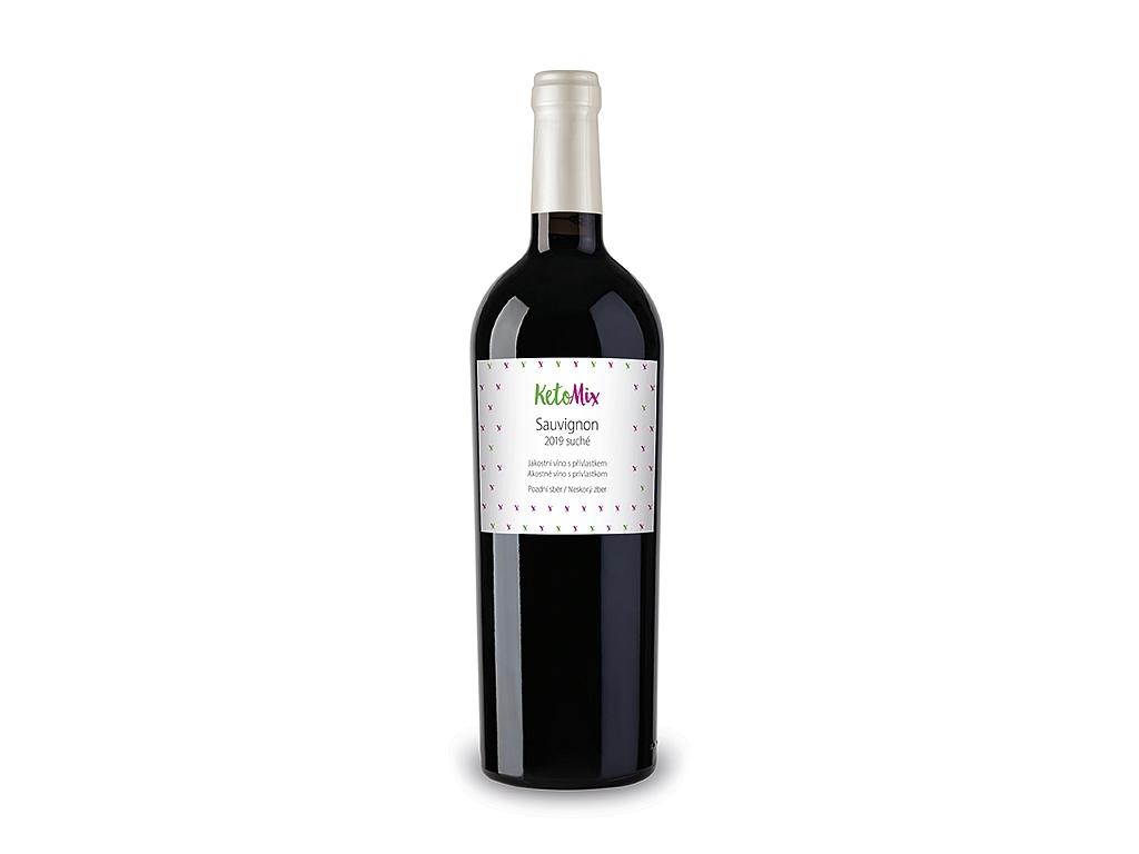 KetoMix Sauvignon jakostní víno s přívlastkem 2019