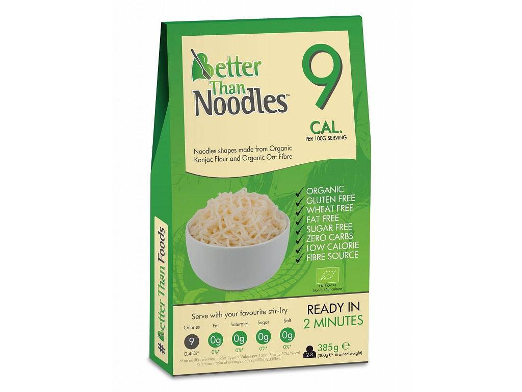 Better than Noodles Slim Pasta konjakové rezance BIO - maxi balenie 385 g