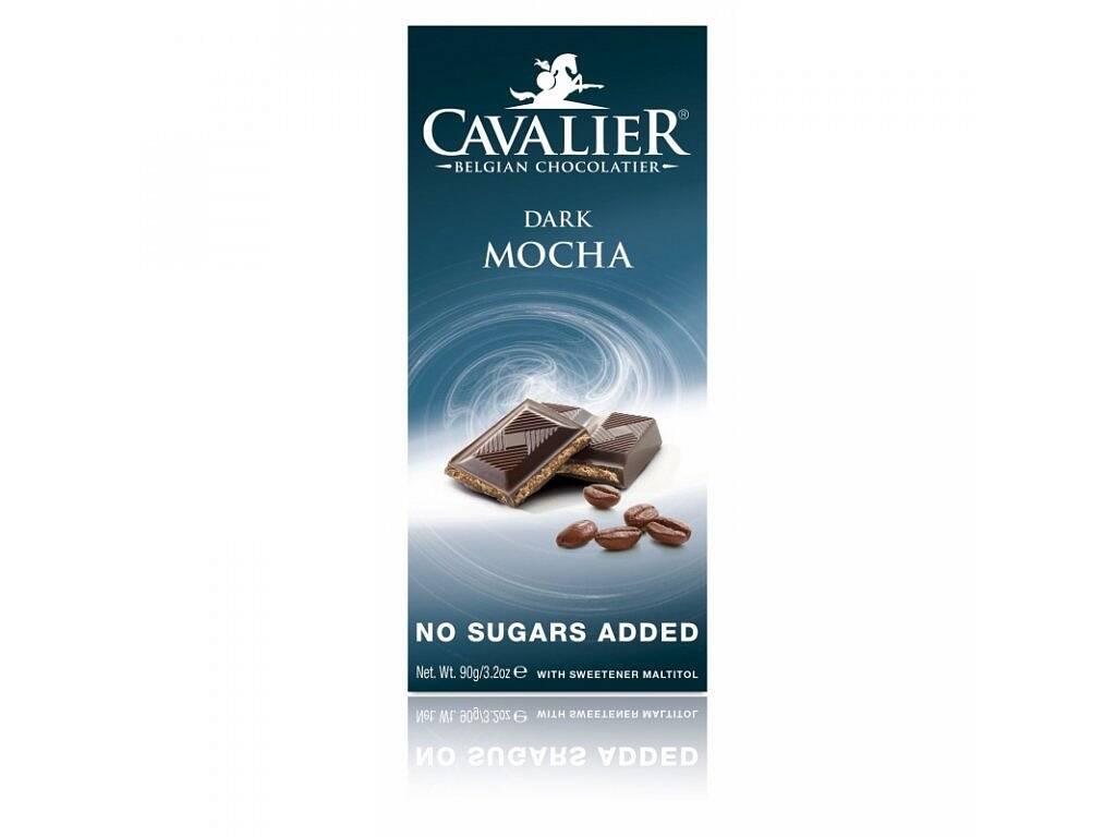 Cavalier Čokoláda DARK MOCHA (sladená maltitolom) 90 g
