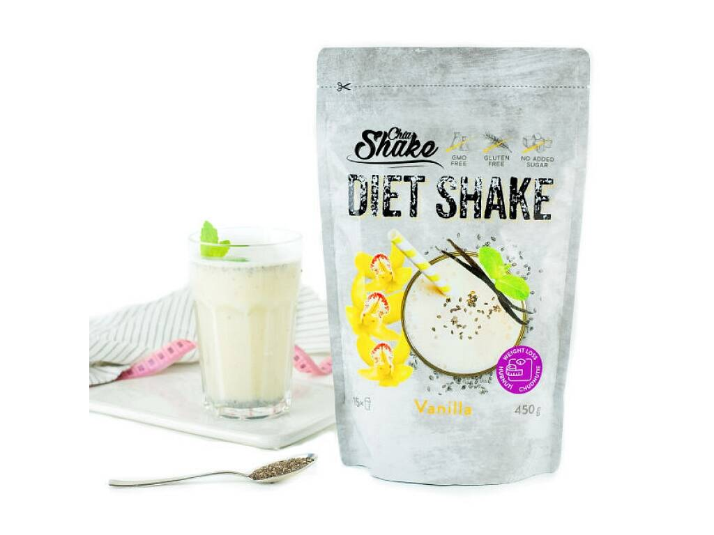 Chia Shake Diétny kokteil vanilkový 1200g