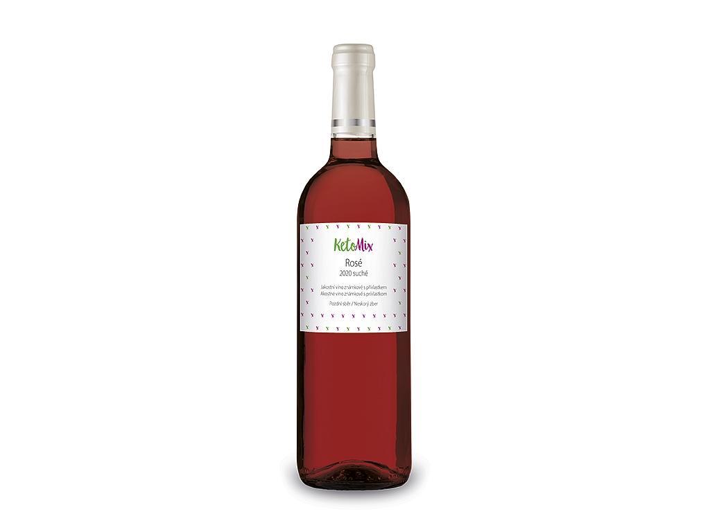KetoMix Rosé Kozí Horky akostné víno s prívlastkom 2020