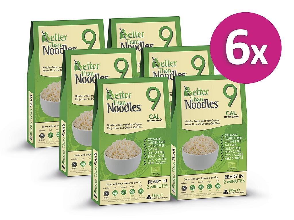 Better than Noodles Konjakové bezsacharidové nudle (5+1 zdarma)