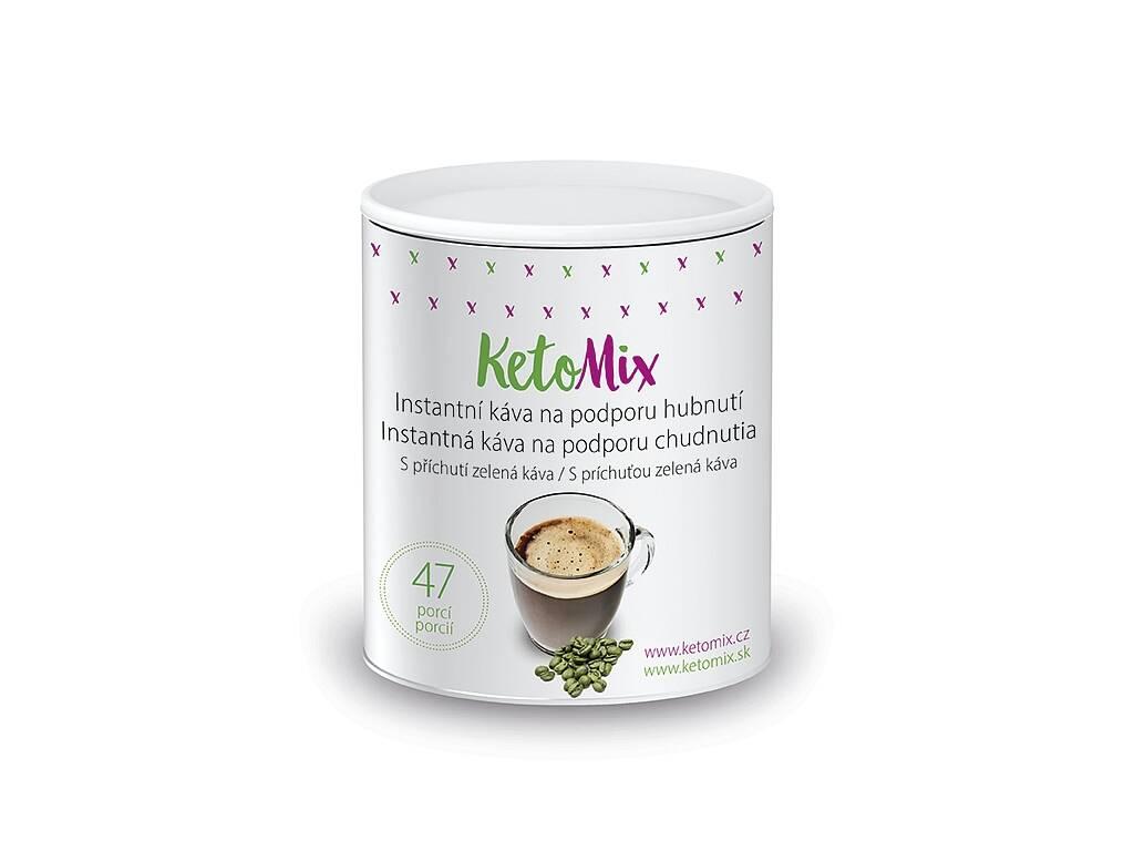 KetoMix Instantná káva na podporu chudnutia s príchuťou zelenej kávy (47 porcií)