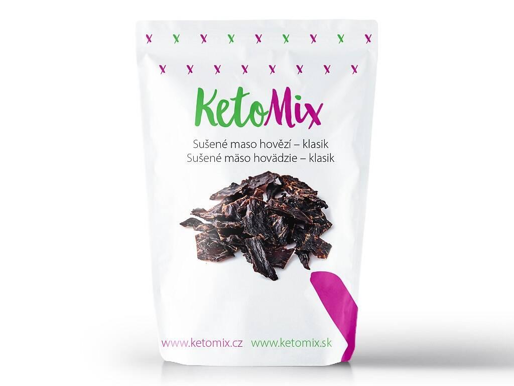 KetoMix Sušené mäso hovädzie – klasik (1 porcia) 30 g