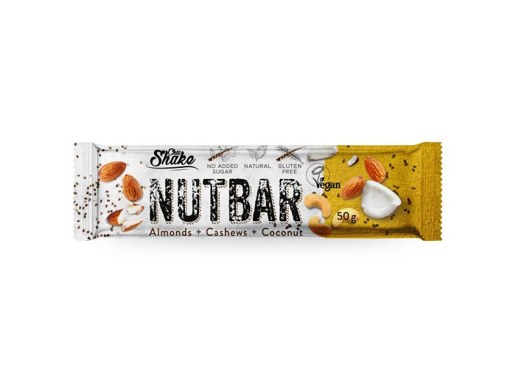 Low carb oriešková tyčinka NUTBAR 50 g