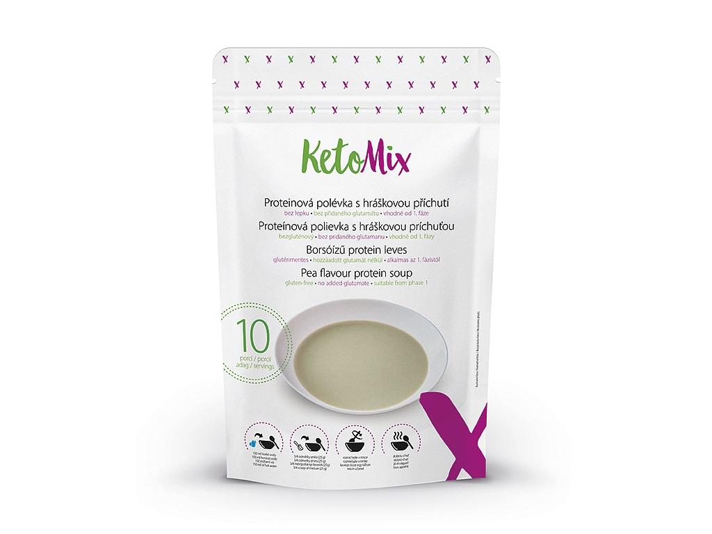 KetoMix Proteínová polievka s hráškovou príchuťou (10 porcií)
